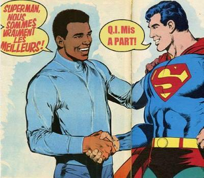 Cassius et Superman le QI