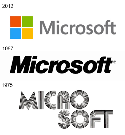 Nouveau logo de Microsoft