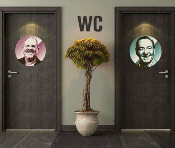 Les toilettes d'Hollywood