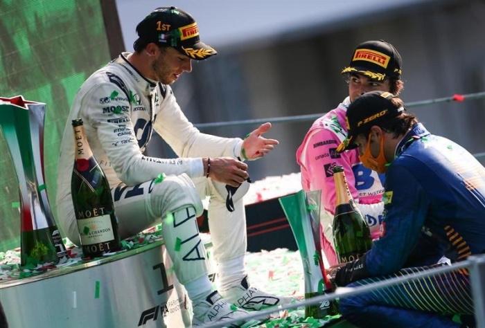 Monza 2020 le podium