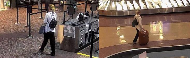 Dernières images: Mackenzie Lueck à l'aéroport