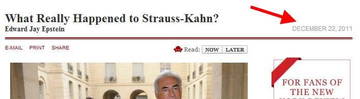 Strauss-kahn, le complot