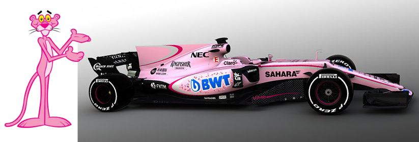 Force India rose 2017