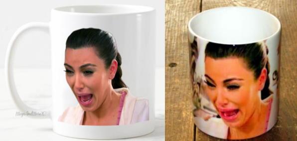 Les mugs de Kim Kardashian