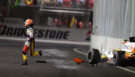 Accident de Piquet à Singapour