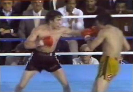 Boxeur mort en direct