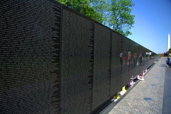 vietnam memorial mur