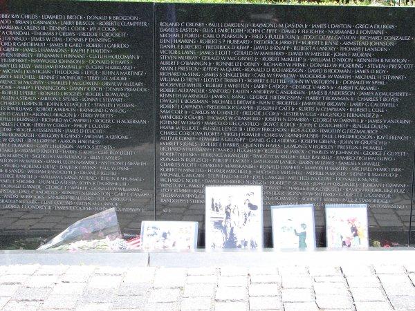 vietnam memorial noms