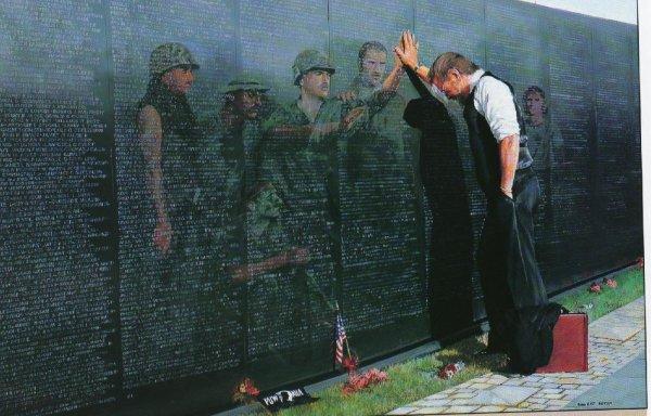 vietnam memorial tristesse