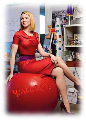 Marissa Mayer chez Yahoo!