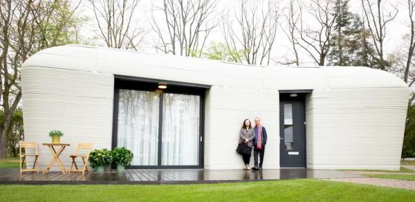 Maison imprimée aux Pays-Bas