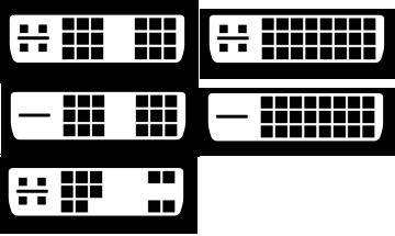 Connecteurs DVI
