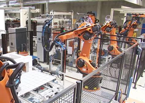 Robots au travail