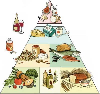 Pyramide alimentaire de Harvard