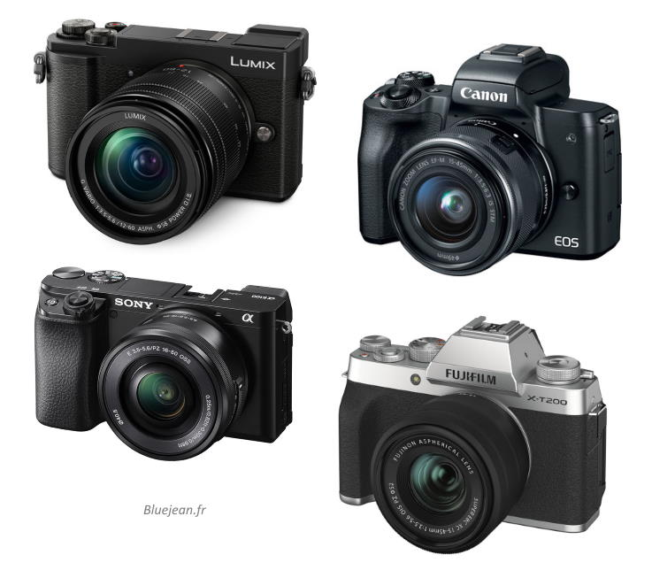 Fujifilm X-T200, Sony A6100, Canon M50, Lumix GX9