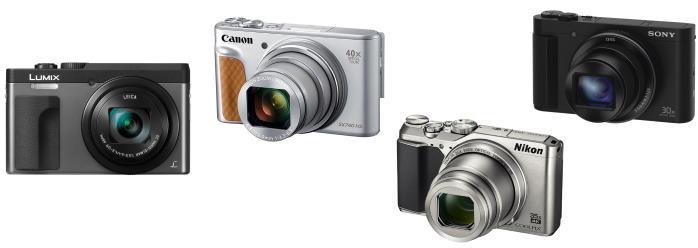 Compact Nikon, Canon, Panasonic, Sony, 2018