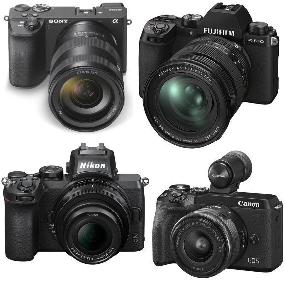 Sony A6600, Canon M6 II, Fujifilm X-S10